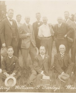 Members of the Puddingstone Club, 1916