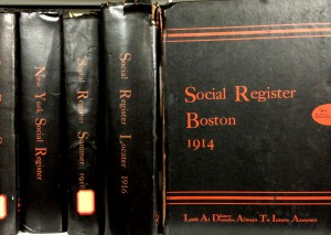 Boston Social Register 1914