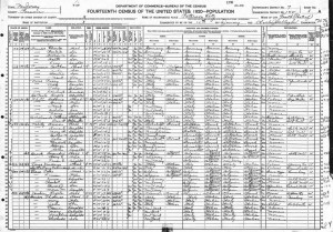 1920 New Jersey census
