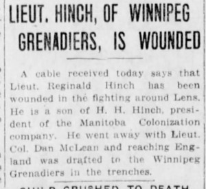 2014 McClure blog post winnipegtribune 26 aug 1917 p1 col 3