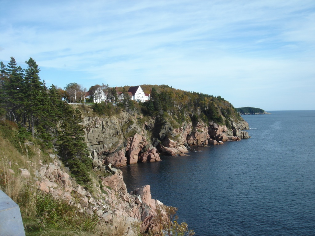 Returning to my ancestral home in nova scotia vita brevis for Minimalist house bay of fundy