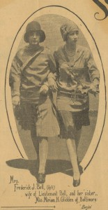Pauline Glidden Turner and Miriam Glidden Turner