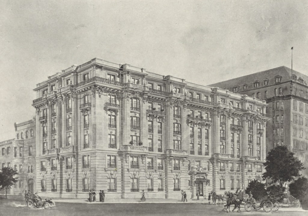 The Washington Apartments by E H Glidden