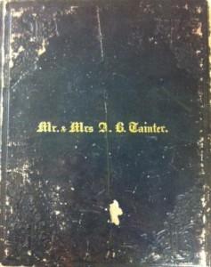 Tainter diary