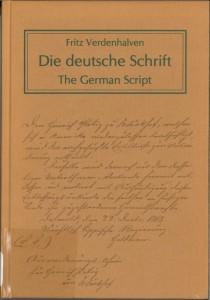 Die Deutsche Schrift Cover