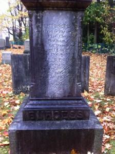 Burgess Monument