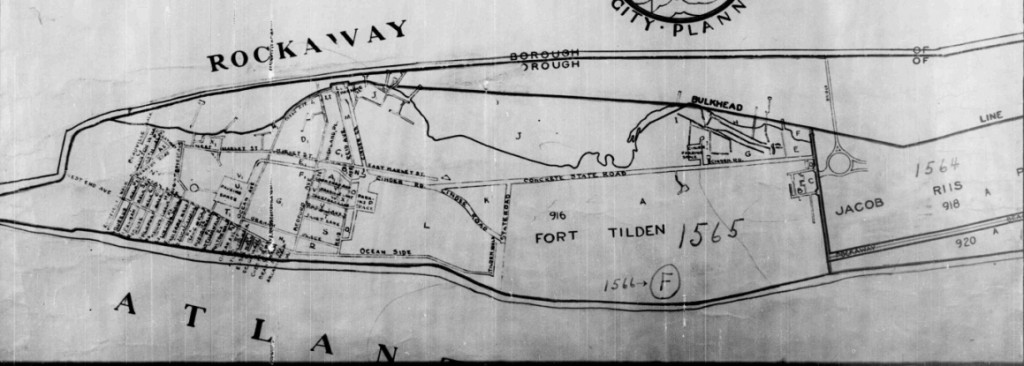 Rockaway map