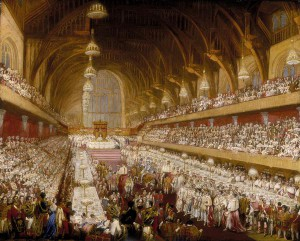 Westminster Hall coronation of George IV 1821