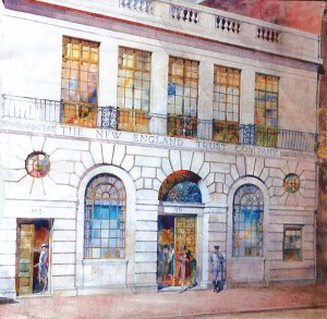 1928 Newbury Street Artist Rendering