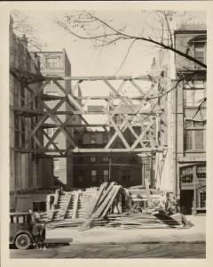 1928 Newbury Street Construction