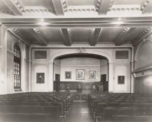 Auditorium at Ashburton Place for VB
