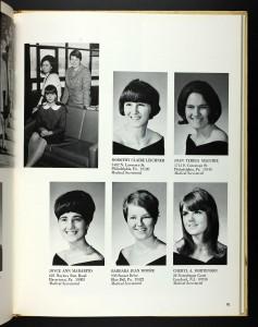 Aunt Joan Gwynedd-Mercy College 1968