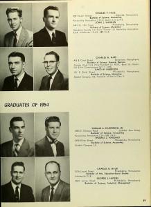 Grandpop - La Salle College 1954