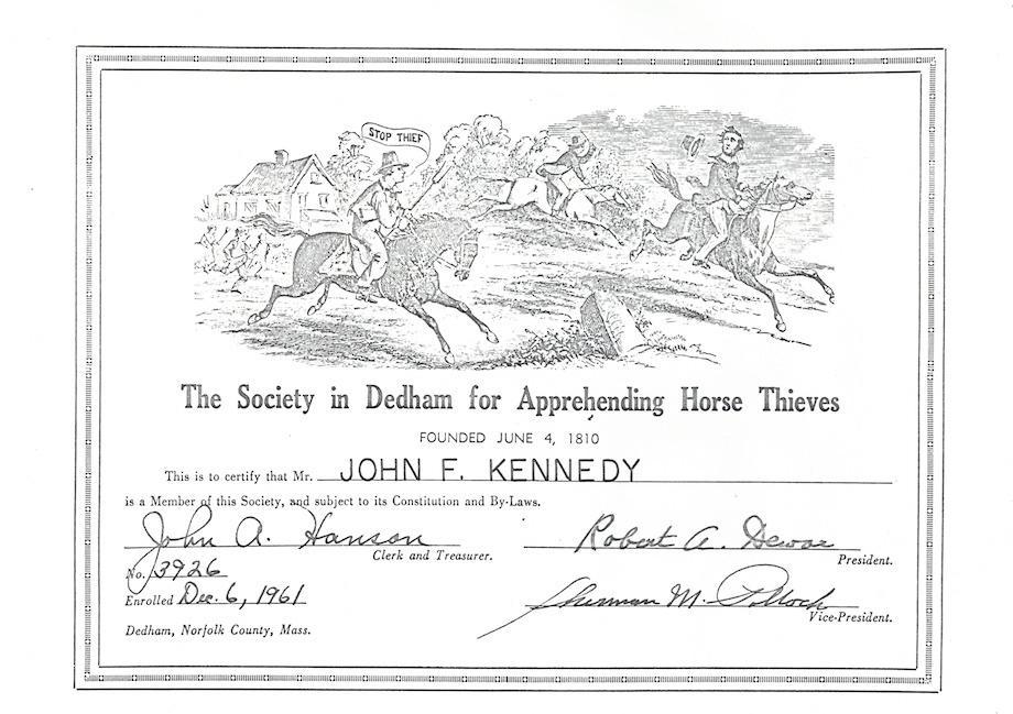 JFK Horse thief