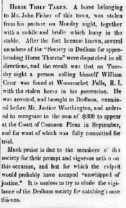 Norfolk Democrat 1835