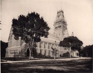 Memorial Hall, Harvard College.