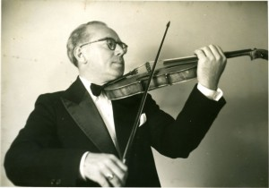 Undated photograph of Percy Brand. From the Papers of Percy Brand, P-865 at the American Jewish Historical Society–New England Archives.