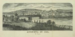Augusta in 1823