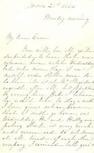 CES to CS letter 1864
