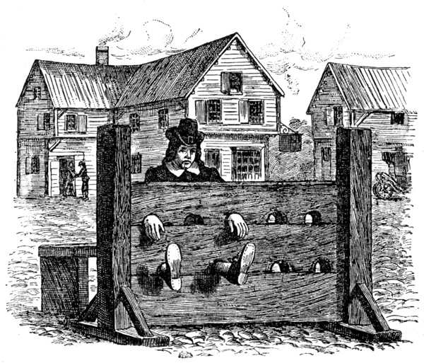 Colonial Punishments For Kids A dream come tr...