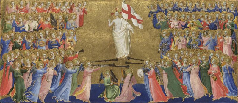 Fra Angelico for C C Lee post