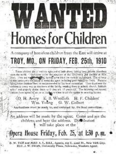 Orphan Train Flyer