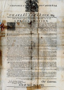Charles Lawrence proclamation_2