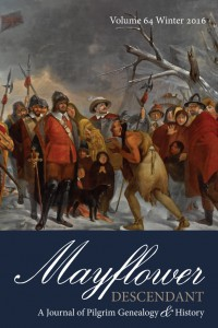 Mayflower Descendant Cover_102915_2