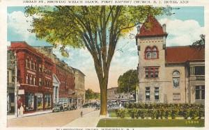 Westerly street scene