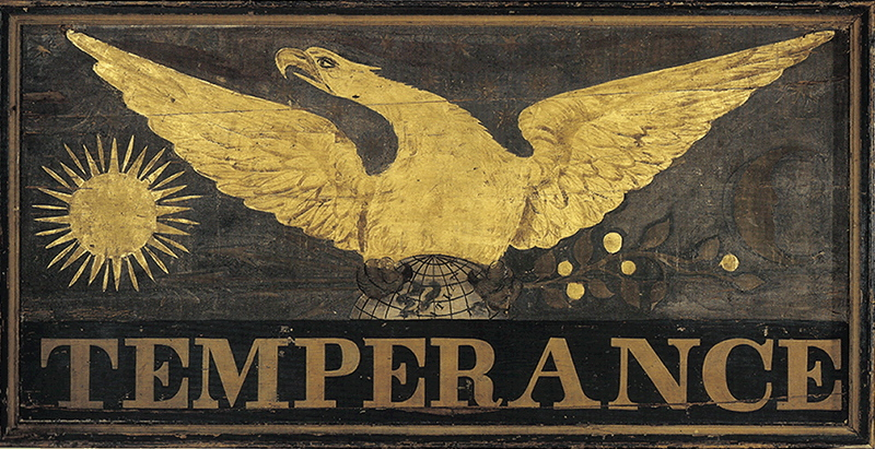 Temperance sign