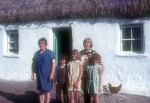 Nana in Ireland 1973
