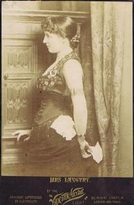 Lillie Langtry by Van der Weyde