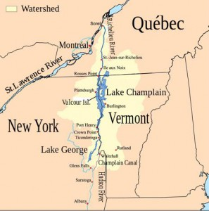 Richelieu River watershed
