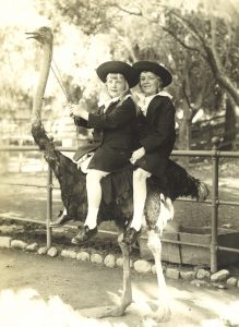 Anne and Theo in California in 1915 for VB