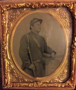David Lambert tintype