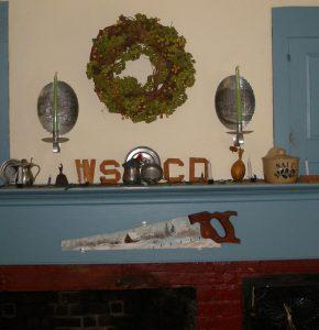 Eunice's fireplace