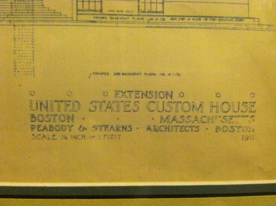 A boston blueprint vita brevis as it turns out the boston custom house tower was constructed from 1913 to 1915 at the time it was bostons tallest building and the citys first official malvernweather Choice Image